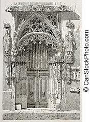Marrieds door