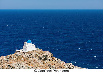 The chapel of 7 Martyrs, Sifnos, Greece - The chapel of 7...