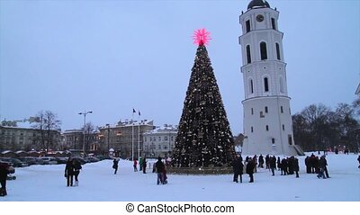 City Christmas Tree, Vilnius Lithuania
