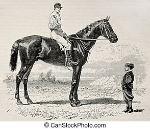 Suzerain - Old illustration of Suzerain, winner of the Prix...