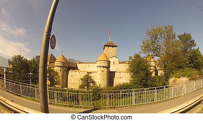 castle - travel along the Chillon Castle