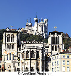 apse of the Saint Jean cathedral, Lyon