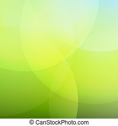 Green And Blue Background With Line, Vector Illustration