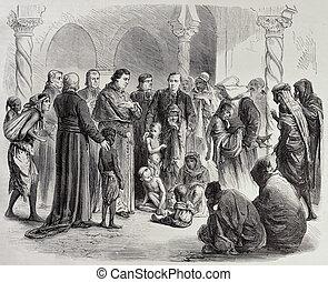 Algeria Famine - Algeria famine: Algiers' Archbishop gives...