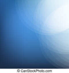 Dark Blue Background With Line, Vector Illustration