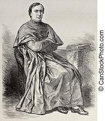 Cardinal Bonaparte - Portrait of Lucien Louis Joseph...