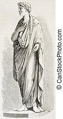 Caesar - Gaius Julius Caesar statue Created by Chazal,...