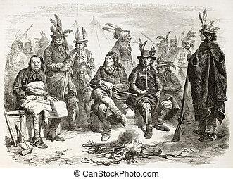 Delaware, indios