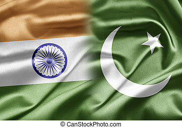 India and Pakistan - How to search for double flags? When...
