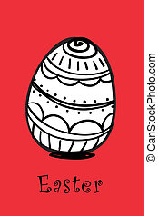 Easter eggs - Vector illustration