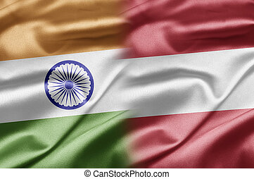 India and Austria - How to search for double flags? When...