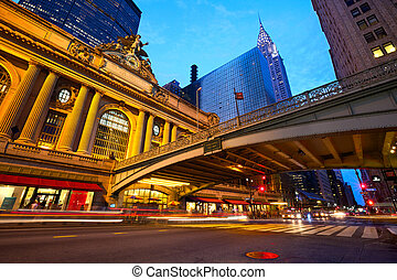 Grand Central Terminal - Grand Central along 42nd Street at...