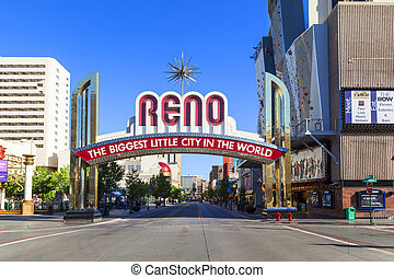Reno The Biggest Little City in the World