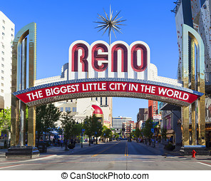 Reno The Biggest Little City in the World. - Reno The...