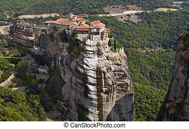 Monastery at Meteora in Greece