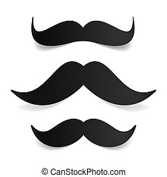 Mustaches - Vector illustration