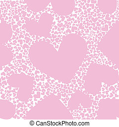 Valentine background - Abstract background, pink pattern...