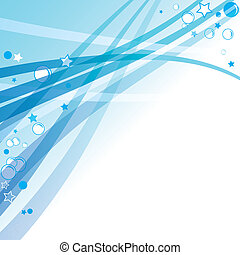 Blue abstract background circle vector.  Christmas illustration