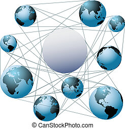 Join Earth worlds in your global network - Put your logo or...