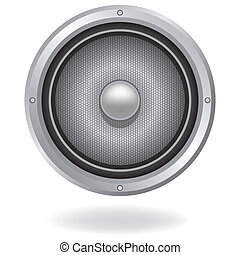 Audio speaker icon, vector illustration Element for design
