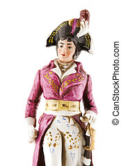 Napoleon Bonaparte - a little statue of Napoleon Bonaparte
