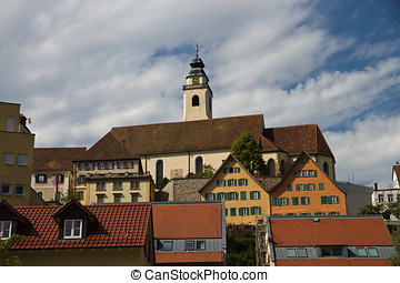Horb am Neckar - Church of Horb am Neckar, Germany