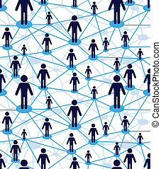 Business team people diagram - Business team, people icon...