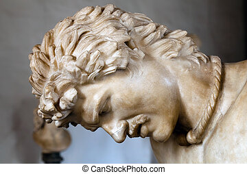 Statue of the Dying Gaul - The Dying Gaul, formerly known as...