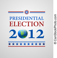 Voting Symbols 2012 vector design
