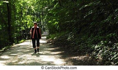 grandma is wandering