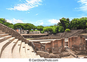 Ruins of Pompeii Ancient amphitheater