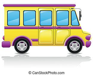 bus vector illustration