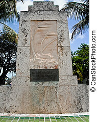 Islamorada Hurricane Momunent - memorial dedicated to...