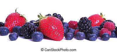 Mixed Berries - Strawberries, blackberries and blueberries...