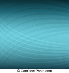 Teal Energy Wave Pattern Background - An image of a teal...