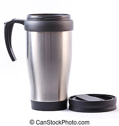 Coffee thermos mug - Heat protection-thermos coffee cup...