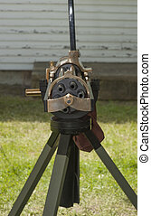 Civil War Weapons - Civil War Enactment Century Village -...