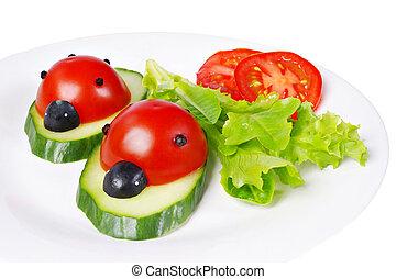 Tomato ladybirds