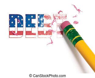 Erasing United States Debt