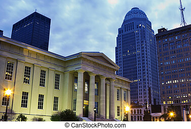 Jefferson County Building in Louisville, Kentucky -...