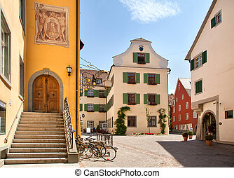 Meersburg at lake Bodensee - Beautiful ancient city...