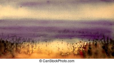 abstract digital painting - illustration of digital painting...