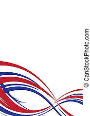 us abstract port - Abstract background in red white and blue...