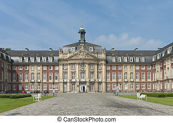 Munster palace - Schloss (castle) in Munster, Germany....