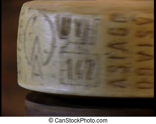 CHEESE spinning asiago