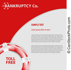 corporate empty leaflet template - Design of corporate empty...