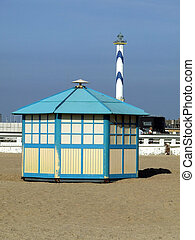 Beach Hut at Ostende