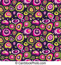 Microcosm - Abstract seamless pattern. Image cute stuff