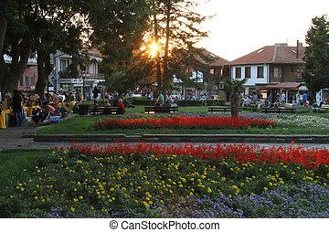 Square in Nesebar, Bulgaria