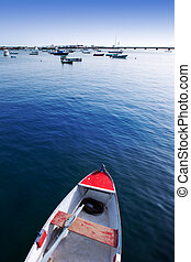 Arrecife Lanzarote boats in harbour at Canaries - Arrecife...